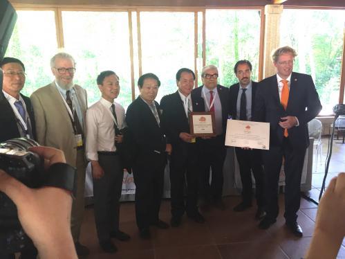 Active Community Award - Sangju (South Korea)
