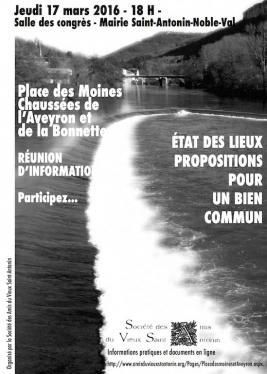 RÉUNION D'INFORMATION-DÉBAT PUBLIC