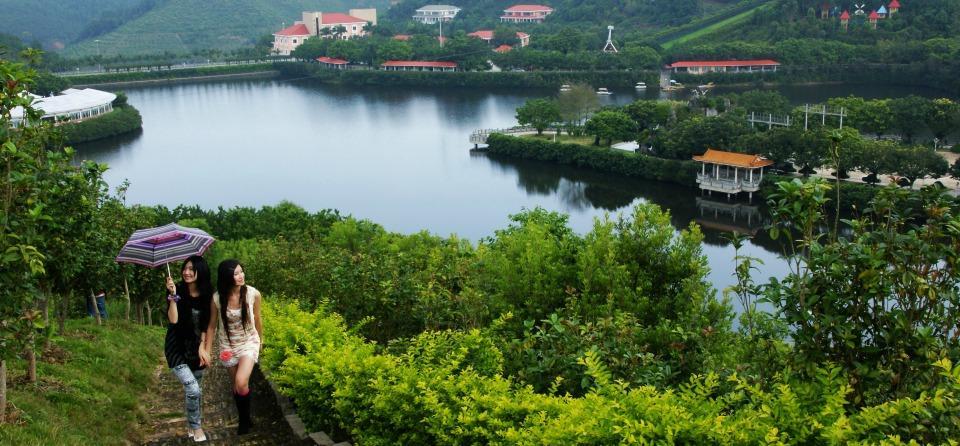 Scene of Yanming lake